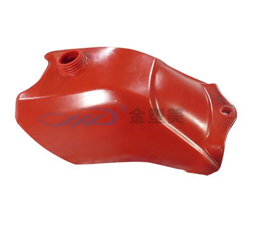 红色滚塑油箱